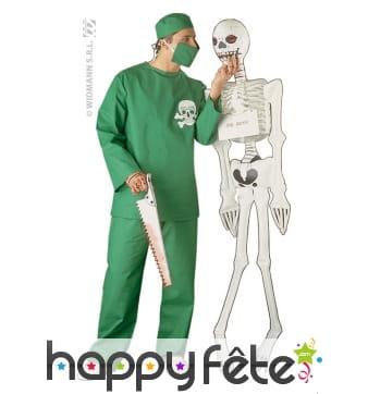 Costume de chirurgien vert