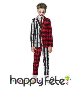 Costume de cirque 2 personnalités pour enfant