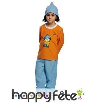 Costume de Conni pour enfant, Mainzelmännchen
