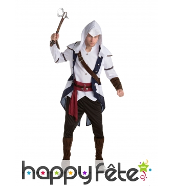 Costume de Connor pour homme, Assassin s creed