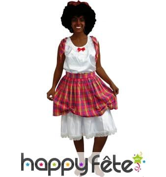 Costume de créole pour femme