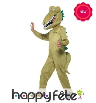 Costume de crocodile pour enfant, Roald Dahl