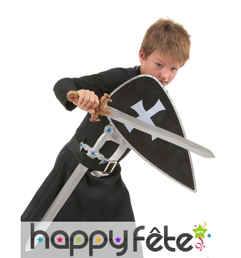 Costume de croisé avec accessoires pour enfant