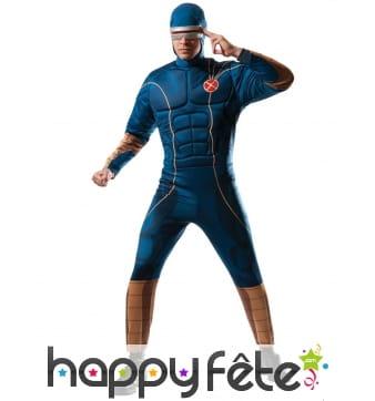 Costume de Cyclope rembourré pour homme, luxe