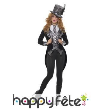 Costume du chapelier fou gothique pour femme
