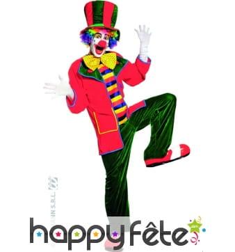 Costume du clown Auguste