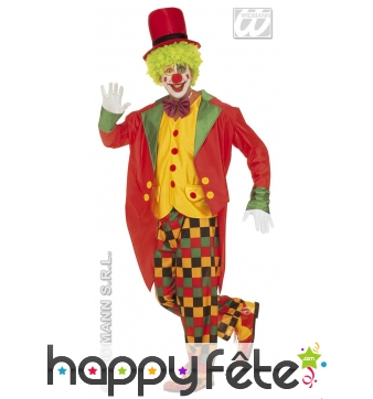 Costume du clown papov
