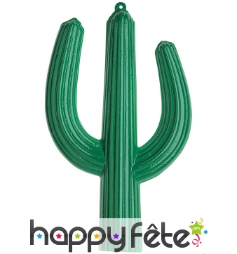 Cactus de décoration 3d en plastique