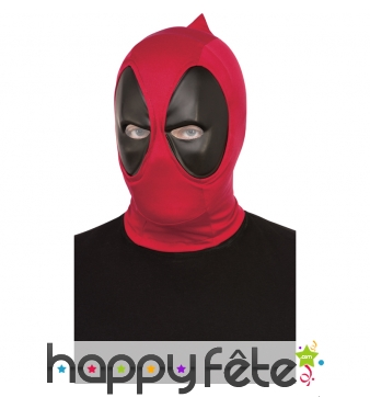Cagoule de deadpool, version luxe