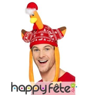 Chapeau Dinde de Noël