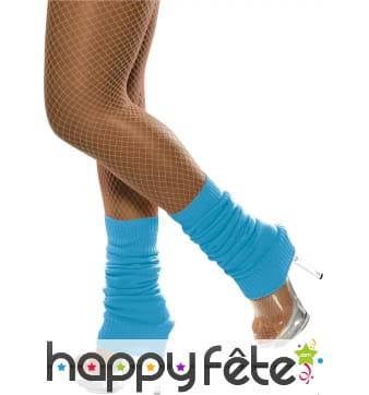 Chaussettes de danse bleues