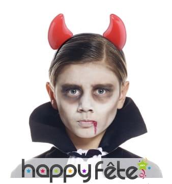 Cornes de diable pour enfant
