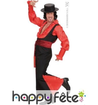 Costume danseur de castagnettes espagnol
