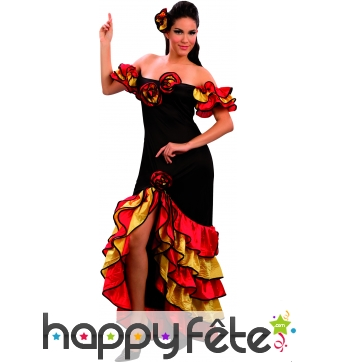 Costume danseuse de Rumba