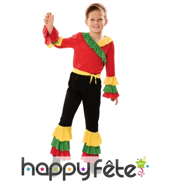 Costume de danseur de rumba pour enfant