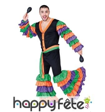 Costume de danseur de salsa pour homme