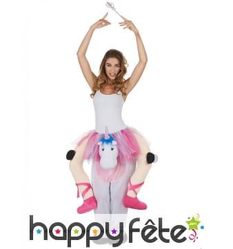 Costume de danseuse à dos de Licorne
