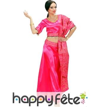 Costume de danseuse du bollywood
