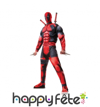 Costume de DeadPool version luxe