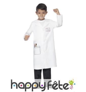 Costume de dentiste pour enfant