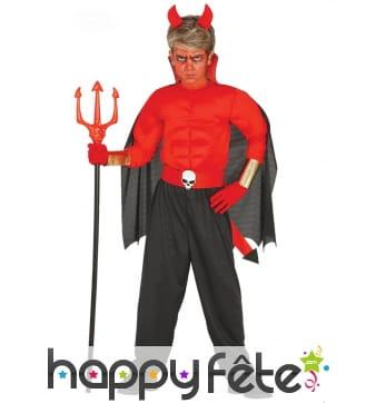 Costume de diable musclé pour enfant