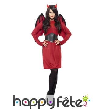Costume de diablesse rouge premier prix