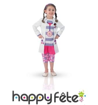 Costume de docteur la peluche pour enfant
