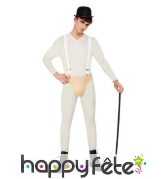 Costume de Droogie pour homme, Orange mécanique