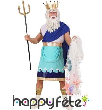 Costume du Dieu Poséidon