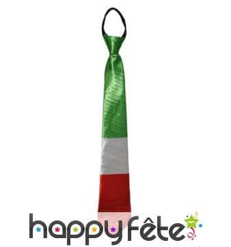 Cravate drapeaux d'Italie