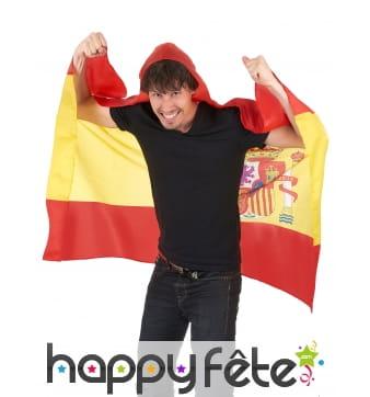 Cape drapeaux Espagnol