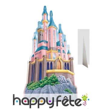 Château Disney en carton plat