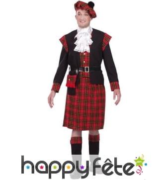 Costume d'écossais authentique