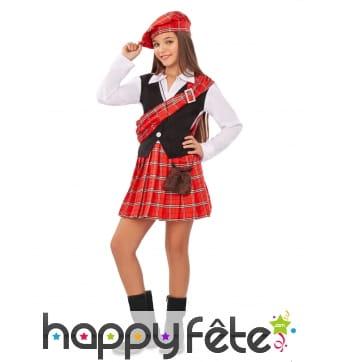 Costume d'Écossaise pour enfant