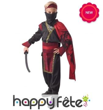 Costume d'élégant ninja pour enfant