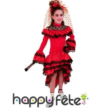 Costume d'enfant Carmen