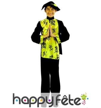 Costume d'enfant chinois