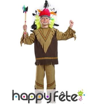 Costume d'enfant indien Nakota