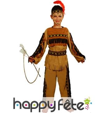 Costume d'enfant indien