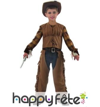 Costume d'enfant western