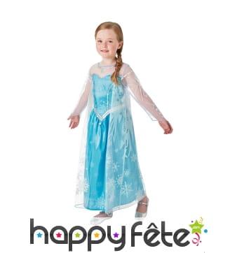 Costume de Elsa pour fillette, Reine des neiges