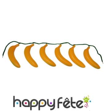 Ceinture de fausses bananes