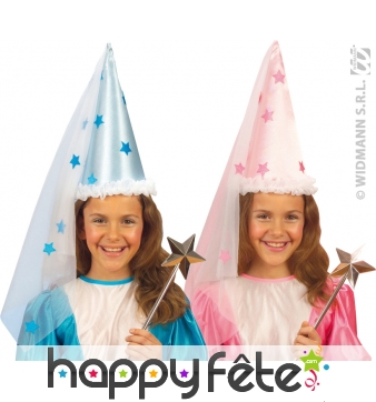 Chapeau de fée étoile enfant