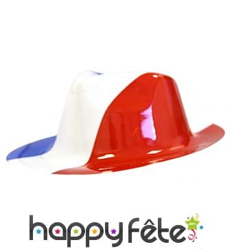 Chapeau drapeau français