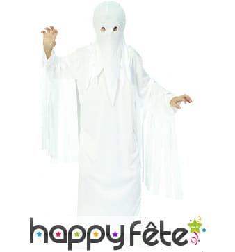 Costume de fantôme blanc pour enfant