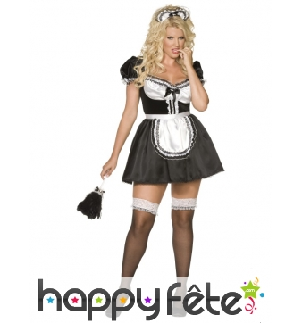 Costume de femme de ménage sexy française