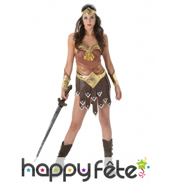 Costume de femme gladiatrice