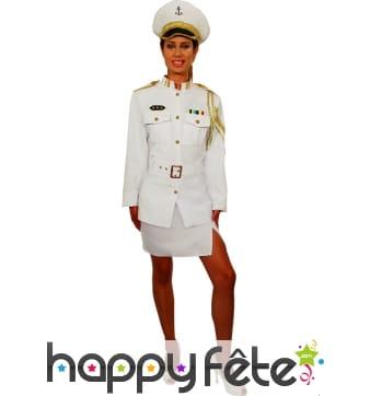 Costume de femme navy sexy