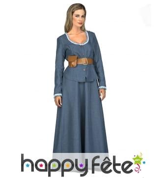 Costume de femme western