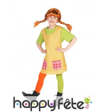 Costume de Fifi Brindacier pour enfant